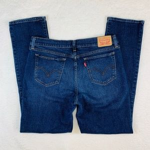 Levis 414 Relaxed Straight Blue Jeans Women's 30